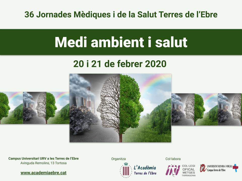 poster 2020 Jornades Medi ambient i salut