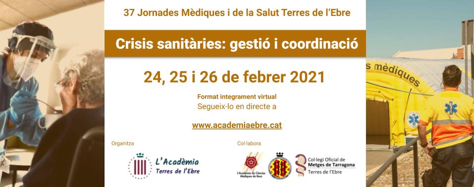 2021 Jornades Gestió crisis sanitàries careta